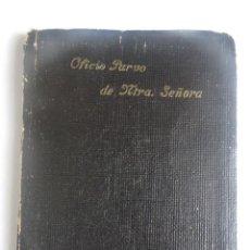 Libri antichi: ANTIGUO LIBRO , OFICIO PARVO DE LA SANTÍSIMA VIRGEN MARÍA , APOSTOLADO DE LA PRENSA,1942 , VER FOTOS. Lote 197298590