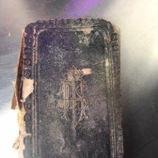 Libros antiguos: LIBRO - DEVOCIONARIO JESUS - LA PASTA DESPEGADA. Lote 197477147