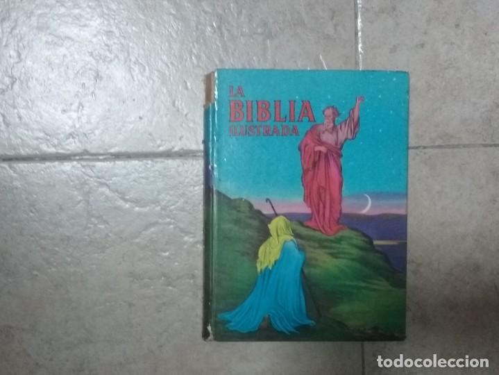 Libros antiguos: LA BIBLIA ILUSTRADA - EDICIONES PAULINSAS - Foto 2 - 197863713