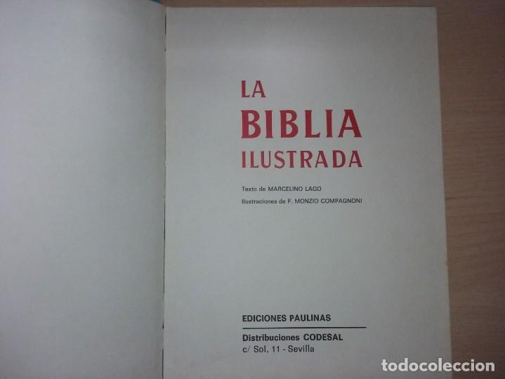 Libros antiguos: LA BIBLIA ILUSTRADA - EDICIONES PAULINSAS - Foto 4 - 197863713