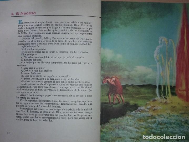 Libros antiguos: LA BIBLIA ILUSTRADA - EDICIONES PAULINSAS - Foto 5 - 197863713