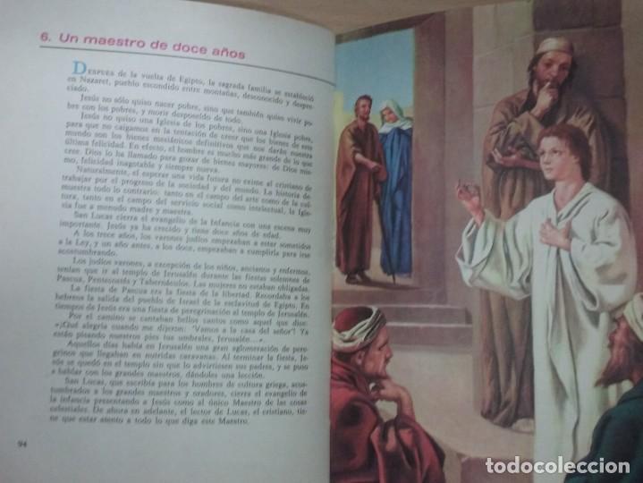Libros antiguos: LA BIBLIA ILUSTRADA - EDICIONES PAULINSAS - Foto 10 - 197863713