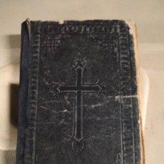 Libros antiguos: 1897. DEVOCIONARIO MANUAL ARREGLADO POR ALGUNOS PADRES DE LA COMPAÑÍA DE JESÚS. 23ª EDICIÓN. Lote 198175375