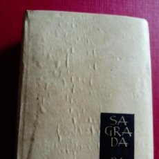 Libros antiguos: SAGRADA BIBLIA EDITORIAL REGINA. Lote 198716096