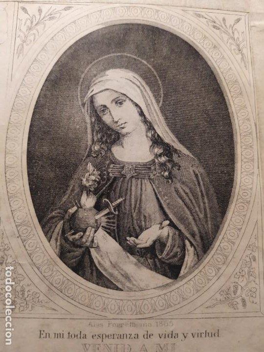 Libros antiguos: 1866. Tesoros del amor virginal en el corazón de la madre de Dios. Obispo de la Habana. - Foto 4 - 199046780