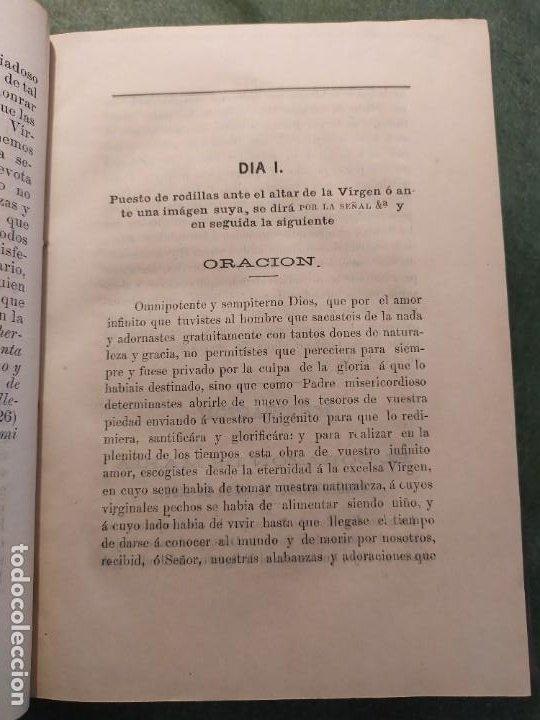 Libros antiguos: 1866. Tesoros del amor virginal en el corazón de la madre de Dios. Obispo de la Habana. - Foto 6 - 199046780