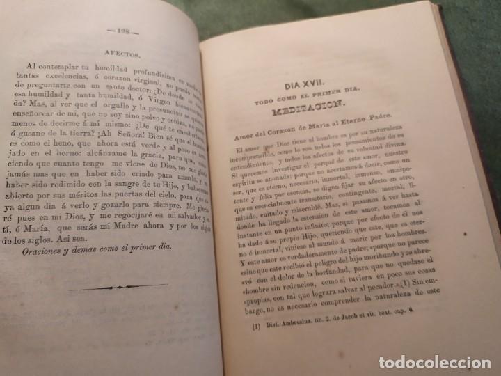 Libros antiguos: 1866. Tesoros del amor virginal en el corazón de la madre de Dios. Obispo de la Habana. - Foto 11 - 199046780