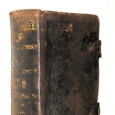 Libros antiguos: LIBRO OFICIO DE LA SEMANA SANTA SEGUN EL MISAL Y BREVIARIO ROMANOS - PUBL. POR MANDATO DE SAN PIO V.. Lote 232642710
