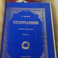 Libros antiguos: O GENIO DO CHRISTIANISMO. LISBOA 1854.. Lote 199459410