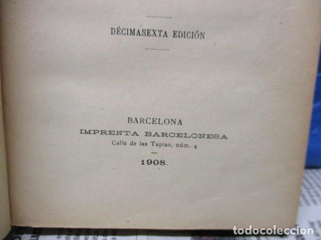 Libros antiguos: EL CRITERIO - JAIME BALMES - 1908 - Foto 7 - 199759412