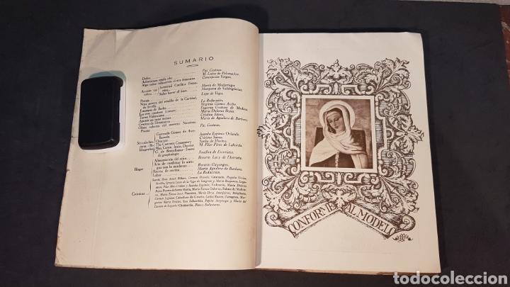 Libros antiguos: MATER ADMIRABILIS. AÑO 1932. SAGRADO CORAZÓN. CHAMARTÍN. - Foto 3 - 199922827