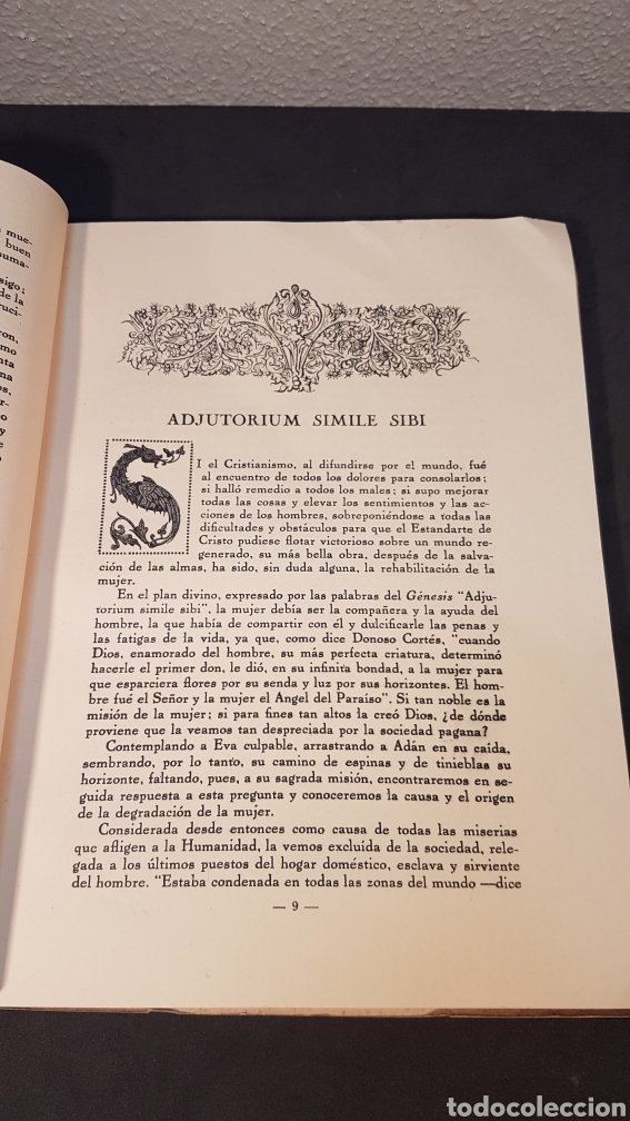 Libros antiguos: MATER ADMIRABILIS. AÑO 1932. SAGRADO CORAZÓN. CHAMARTÍN. - Foto 5 - 199922827