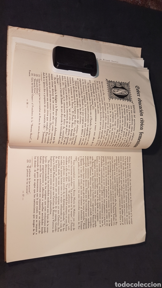 Libros antiguos: MATER ADMIRABILIS. AÑO 1932. SAGRADO CORAZÓN. CHAMARTÍN. - Foto 6 - 199922827