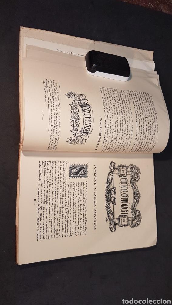 Libros antiguos: MATER ADMIRABILIS. AÑO 1932. SAGRADO CORAZÓN. CHAMARTÍN. - Foto 7 - 199922827