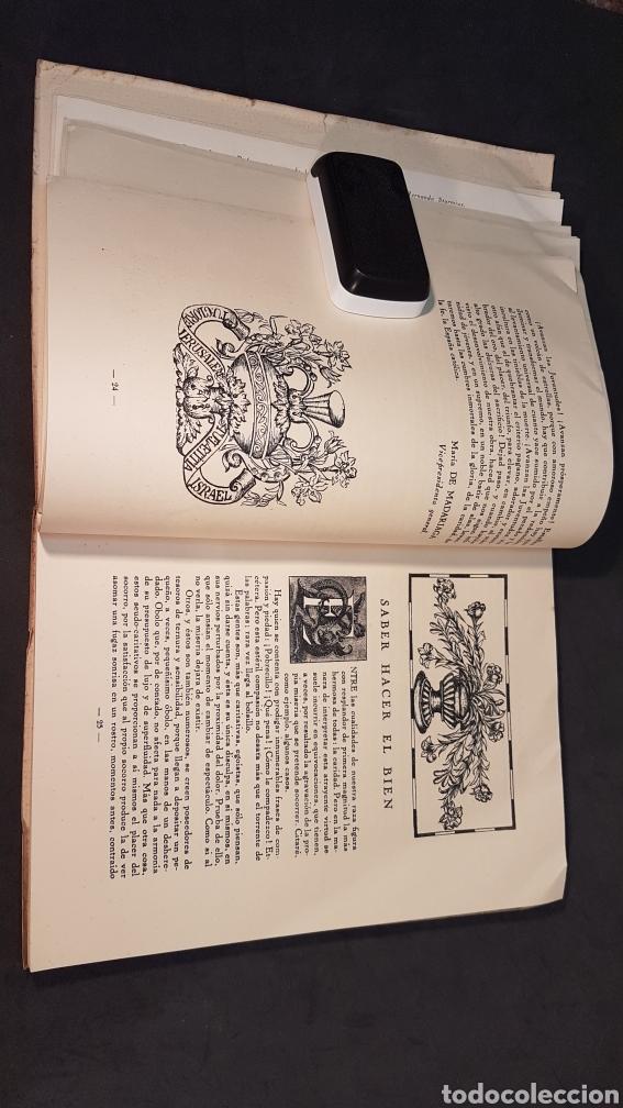 Libros antiguos: MATER ADMIRABILIS. AÑO 1932. SAGRADO CORAZÓN. CHAMARTÍN. - Foto 8 - 199922827