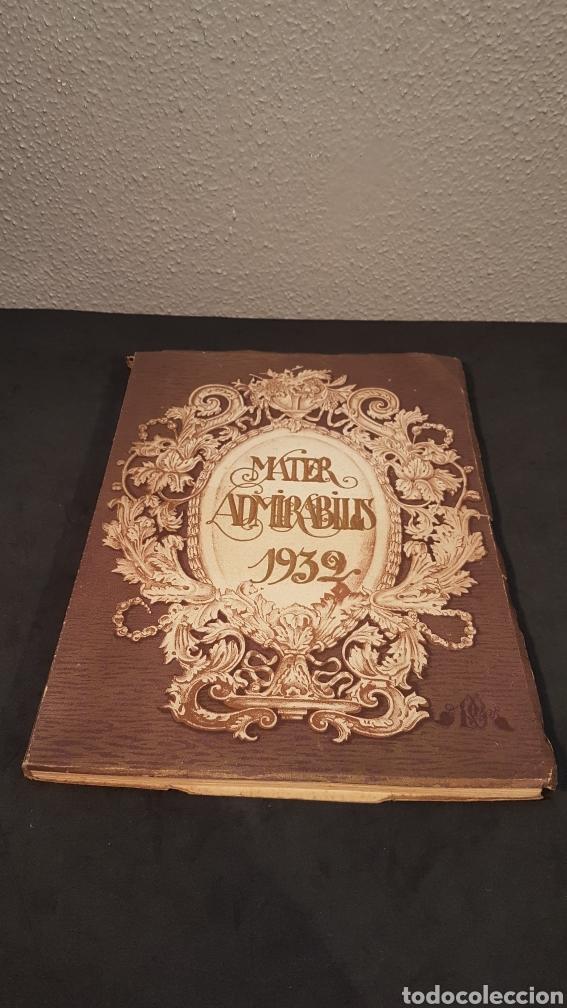 MATER ADMIRABILIS. AÑO 1932. SAGRADO CORAZÓN. CHAMARTÍN. (Libros Antiguos, Raros y Curiosos - Religión)