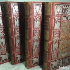 Libros antiguos: LA SAGRADA BIBLIA 1883 MONTANER Y SIMÓN, EDICIÓN DE LUJO 4 TOMOS. ILUSTRADA LAMINAS GUSTAVO DORÉ. Lote 201155431