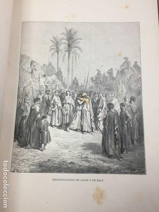 Libros antiguos: LA SAGRADA BIBLIA 1883 Montaner y Simón, edición de lujo 4 tomos. Ilustrada Laminas Gustavo Doré - Foto 6 - 201155431
