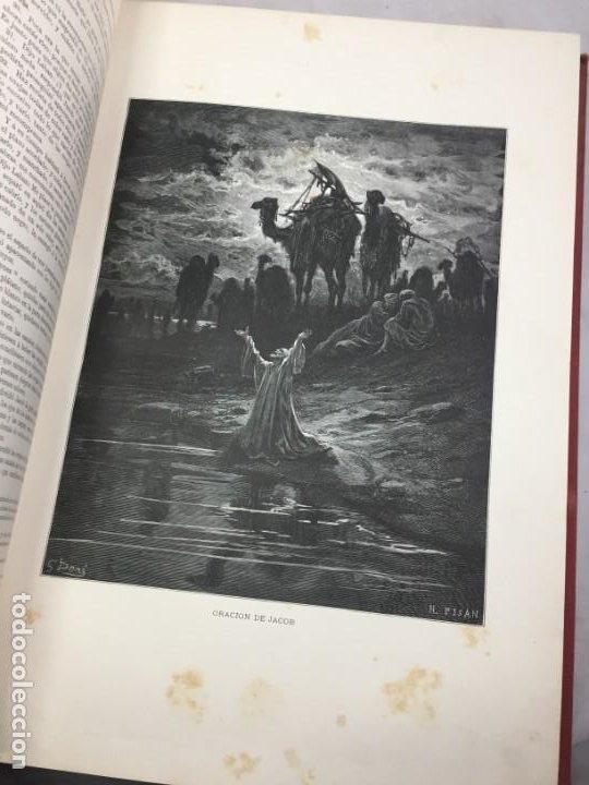 Libros antiguos: LA SAGRADA BIBLIA 1883 Montaner y Simón, edición de lujo 4 tomos. Ilustrada Laminas Gustavo Doré - Foto 7 - 201155431