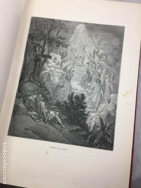 Libros antiguos: LA SAGRADA BIBLIA 1883 Montaner y Simón, edición de lujo 4 tomos. Ilustrada Laminas Gustavo Doré - Foto 8 - 201155431