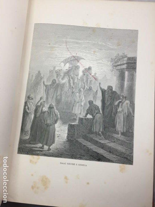 Libros antiguos: LA SAGRADA BIBLIA 1883 Montaner y Simón, edición de lujo 4 tomos. Ilustrada Laminas Gustavo Doré - Foto 10 - 201155431