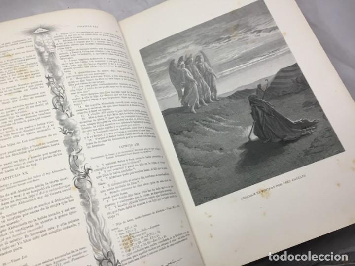Libros antiguos: LA SAGRADA BIBLIA 1883 Montaner y Simón, edición de lujo 4 tomos. Ilustrada Laminas Gustavo Doré - Foto 11 - 201155431
