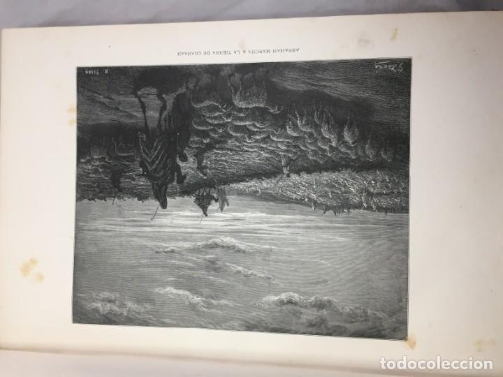 Libros antiguos: LA SAGRADA BIBLIA 1883 Montaner y Simón, edición de lujo 4 tomos. Ilustrada Laminas Gustavo Doré - Foto 12 - 201155431