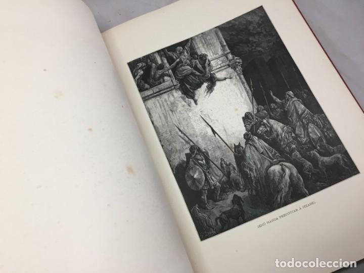 Libros antiguos: LA SAGRADA BIBLIA 1883 Montaner y Simón, edición de lujo 4 tomos. Ilustrada Laminas Gustavo Doré - Foto 16 - 201155431