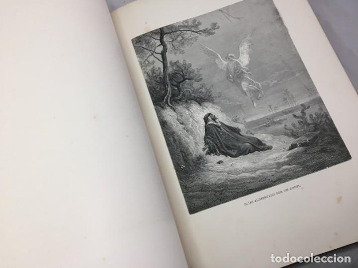Libros antiguos: LA SAGRADA BIBLIA 1883 Montaner y Simón, edición de lujo 4 tomos. Ilustrada Laminas Gustavo Doré - Foto 18 - 201155431