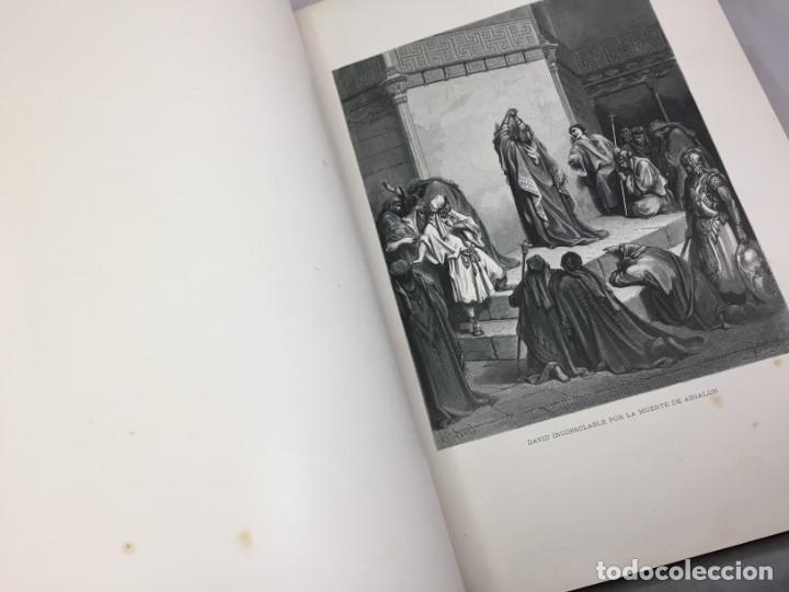 Libros antiguos: LA SAGRADA BIBLIA 1883 Montaner y Simón, edición de lujo 4 tomos. Ilustrada Laminas Gustavo Doré - Foto 20 - 201155431