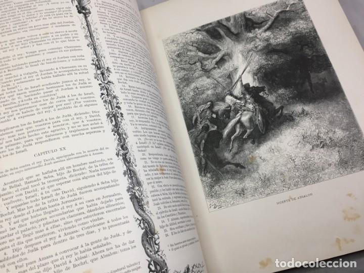 Libros antiguos: LA SAGRADA BIBLIA 1883 Montaner y Simón, edición de lujo 4 tomos. Ilustrada Laminas Gustavo Doré - Foto 21 - 201155431