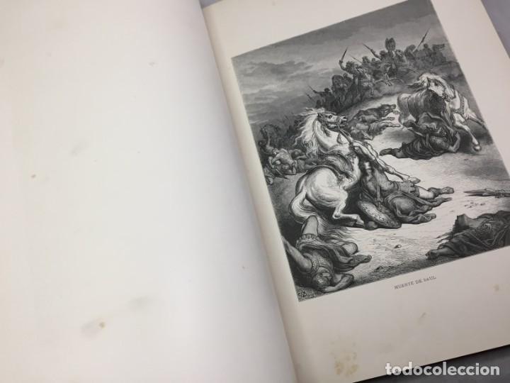 Libros antiguos: LA SAGRADA BIBLIA 1883 Montaner y Simón, edición de lujo 4 tomos. Ilustrada Laminas Gustavo Doré - Foto 22 - 201155431
