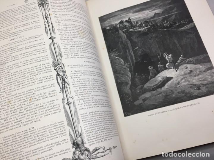 Libros antiguos: LA SAGRADA BIBLIA 1883 Montaner y Simón, edición de lujo 4 tomos. Ilustrada Laminas Gustavo Doré - Foto 24 - 201155431