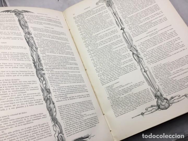 Libros antiguos: LA SAGRADA BIBLIA 1883 Montaner y Simón, edición de lujo 4 tomos. Ilustrada Laminas Gustavo Doré - Foto 26 - 201155431