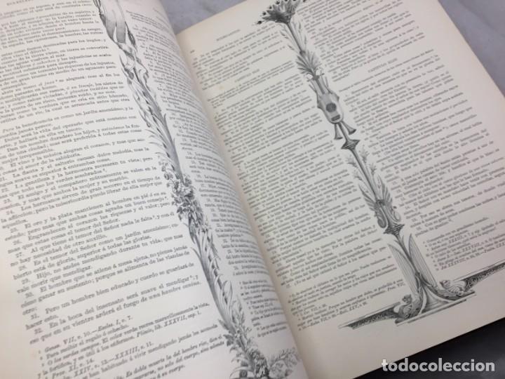 Libros antiguos: LA SAGRADA BIBLIA 1883 Montaner y Simón, edición de lujo 4 tomos. Ilustrada Laminas Gustavo Doré - Foto 28 - 201155431