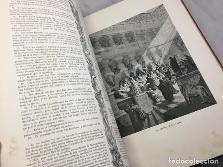 Libros antiguos: LA SAGRADA BIBLIA 1883 Montaner y Simón, edición de lujo 4 tomos. Ilustrada Laminas Gustavo Doré - Foto 31 - 201155431