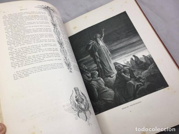 Libros antiguos: LA SAGRADA BIBLIA 1883 Montaner y Simón, edición de lujo 4 tomos. Ilustrada Laminas Gustavo Doré - Foto 32 - 201155431