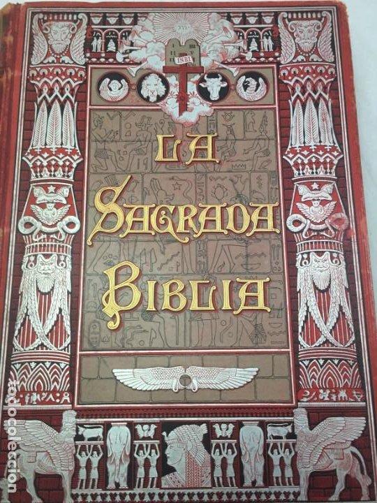 Libros antiguos: LA SAGRADA BIBLIA 1883 Montaner y Simón, edición de lujo 4 tomos. Ilustrada Laminas Gustavo Doré - Foto 33 - 201155431