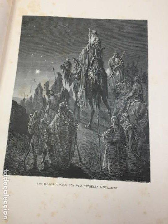 Libros antiguos: LA SAGRADA BIBLIA 1883 Montaner y Simón, edición de lujo 4 tomos. Ilustrada Laminas Gustavo Doré - Foto 35 - 201155431