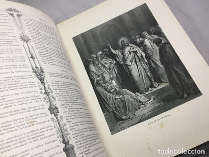 Libros antiguos: LA SAGRADA BIBLIA 1883 Montaner y Simón, edición de lujo 4 tomos. Ilustrada Laminas Gustavo Doré - Foto 36 - 201155431