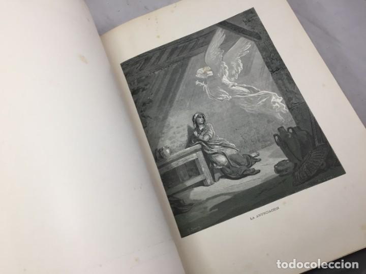 Libros antiguos: LA SAGRADA BIBLIA 1883 Montaner y Simón, edición de lujo 4 tomos. Ilustrada Laminas Gustavo Doré - Foto 37 - 201155431