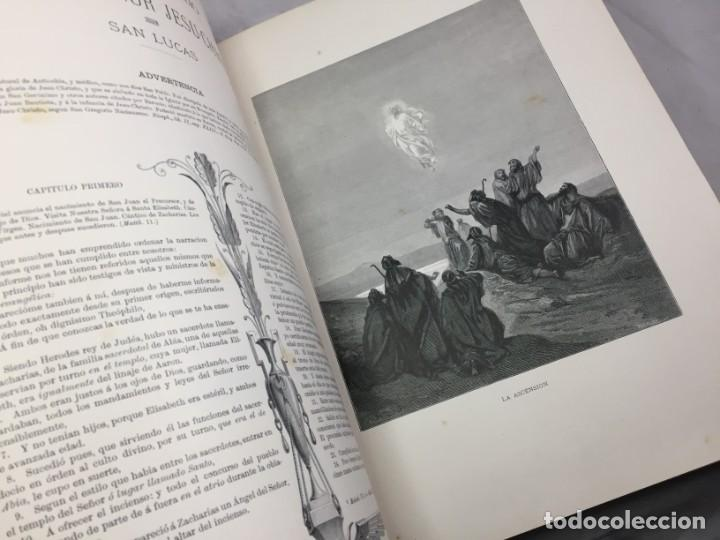 Libros antiguos: LA SAGRADA BIBLIA 1883 Montaner y Simón, edición de lujo 4 tomos. Ilustrada Laminas Gustavo Doré - Foto 38 - 201155431