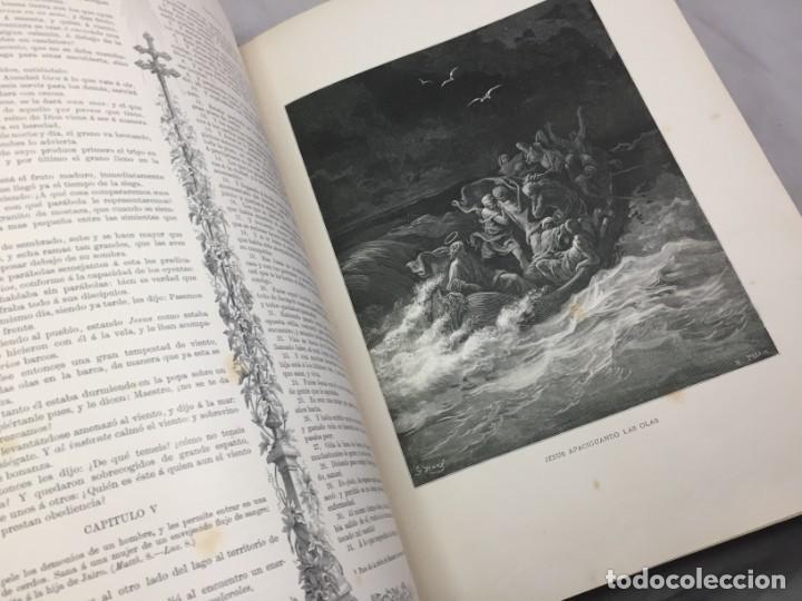 Libros antiguos: LA SAGRADA BIBLIA 1883 Montaner y Simón, edición de lujo 4 tomos. Ilustrada Laminas Gustavo Doré - Foto 39 - 201155431