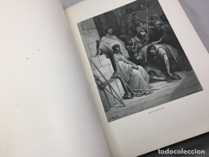 Libros antiguos: LA SAGRADA BIBLIA 1883 Montaner y Simón, edición de lujo 4 tomos. Ilustrada Laminas Gustavo Doré - Foto 40 - 201155431