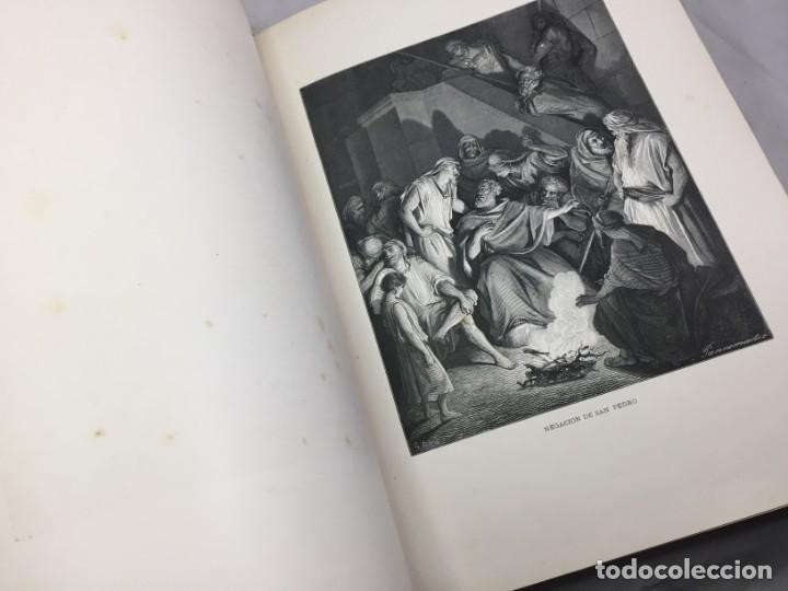 Libros antiguos: LA SAGRADA BIBLIA 1883 Montaner y Simón, edición de lujo 4 tomos. Ilustrada Laminas Gustavo Doré - Foto 41 - 201155431
