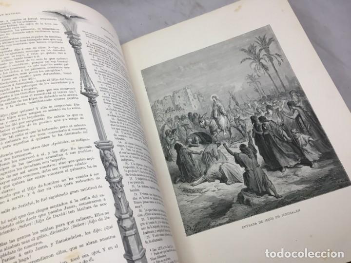 Libros antiguos: LA SAGRADA BIBLIA 1883 Montaner y Simón, edición de lujo 4 tomos. Ilustrada Laminas Gustavo Doré - Foto 44 - 201155431