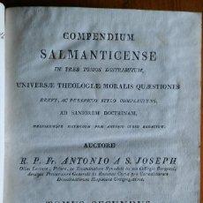 Libros antiguos: COMPENDIUM SALMANTICENSE, BARCELONA, 1817, TOMO 2. Lote 202261131