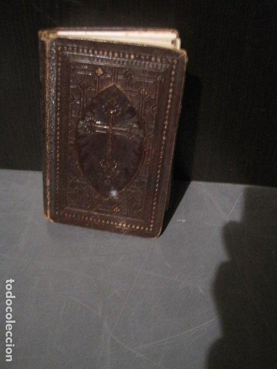LUZ DIVINA. DEVOCIONARIO. LLORENS BARCELONA 1865 (Libros Antiguos, Raros y Curiosos - Religión)