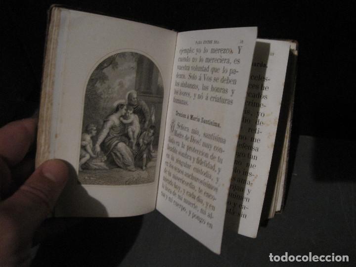 Libros antiguos: Luz divina. Devocionario. Llorens Barcelona 1865 - Foto 4 - 202500108
