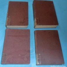 Libros antiguos: AÑO CRISTIANO, 4 TOMOS FR. JUSTO PEREZ DE URBEL OSB- AÑO 1933. Lote 202832123